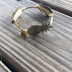 Pineapple/gold Bourbon and Boweties bangle